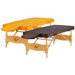 Lettino da massaggio per trattamenti ayurvedici e shirodhara