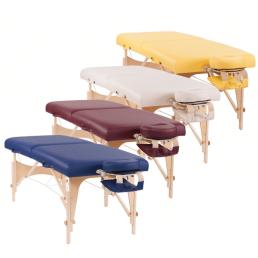 Lettino massaggio oakworks colori
