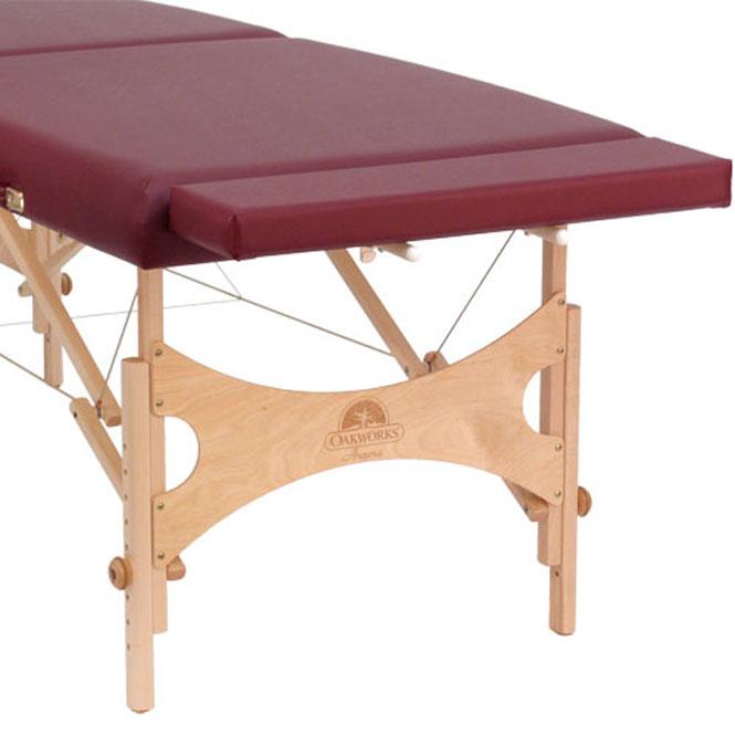 Lettino Per Massaggio Trasportabile.Prolunga Lettino Massaggio Portatile Legno Oakworks Wellness Bazaar