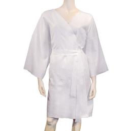 Accappatoio kimono in tessuto-non-tessuto per spa, hotel, centri benessere