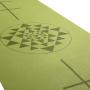 Tappetino yoga serie Leela disegno yantra/allineamento
