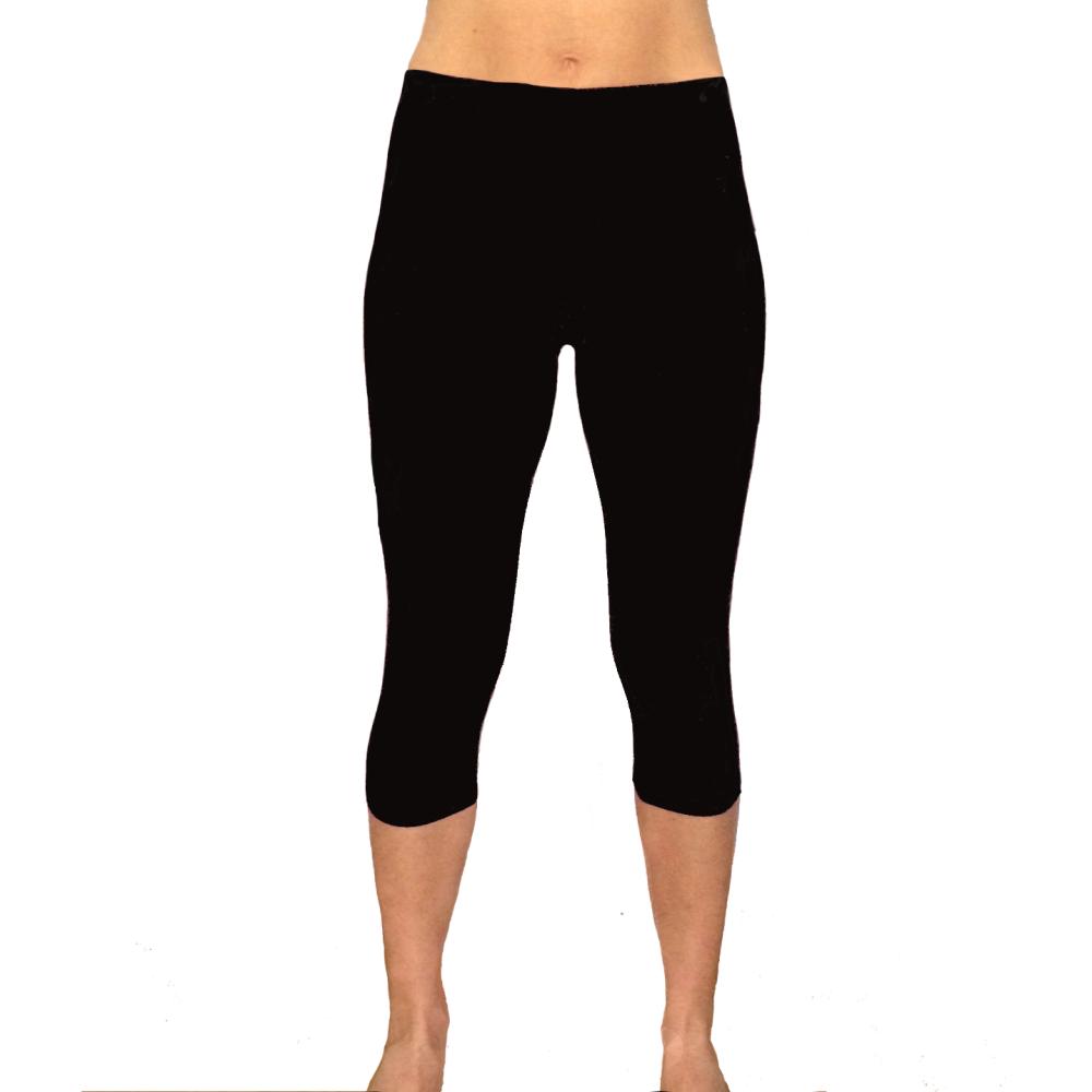 df52a4bb8 Legging yoga corto da donna in cotone per yoga, fitness, danza ...