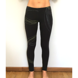 legging yoga cotone - wellness bazaar