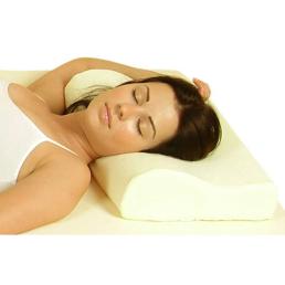 Cuscino in memory foam anatomico per tratto cervicale