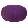 Cuscino da meditazione 'Zafu' color melanzana