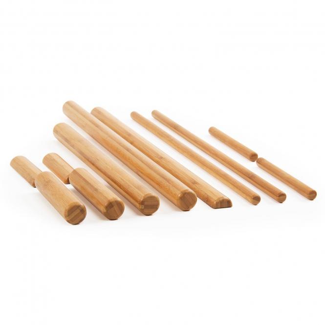 Bambu 39 kit canne di bamb per massaggio da wellness bazaar for Pergolato con canne di bambu