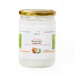 Olio di cocco per massaggio vergine bio