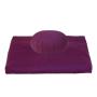 Set meditazione zafu e zabuton colore melanzana