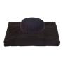 Set meditazione zafu e zabuton colore nero