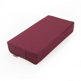 Cuscino da meditazione rettangolare in fibra cocco sfoderabile
