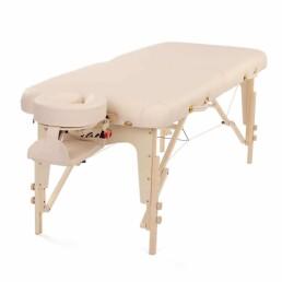lettino massaggio pieghevole beige