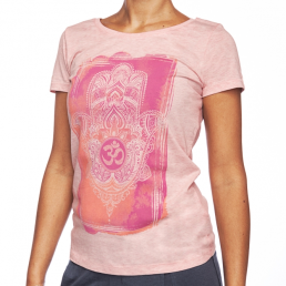 T-shirt donna yoga cotone bio