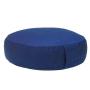 Cuscino da meditazione rondo basso blu