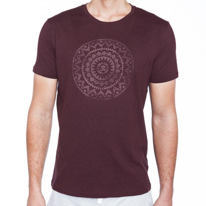 Mandala' T BioWellnessbazaar 'etno UomoCotone Yoga Shirt yYbfg76