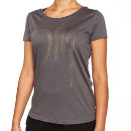 Tshirt yoga con disegno OM, donna