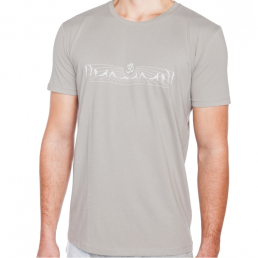 t-shirt yoga uomo cotone bio