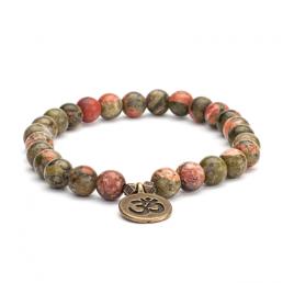 braccialetto Unakite