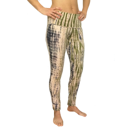 leggings yoga batik cotone - wellness bazaar