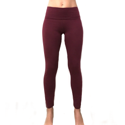 legging lungo yoga bord