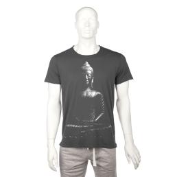 T-shirt uomo con immagine Buddha
