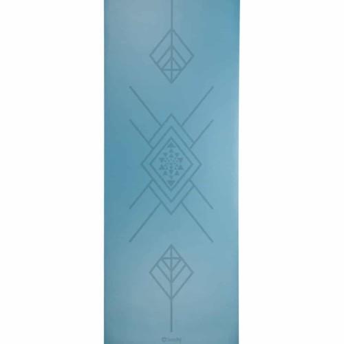 tappetino yoga tribalign blu