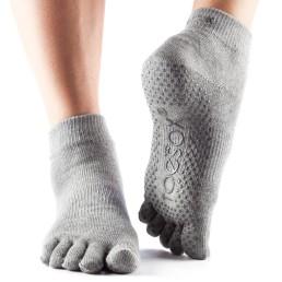 Toesox calze antiscivolo grige