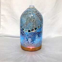 aromadiffusore luci e mosaico