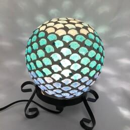 Lampada mosaico conchiglie