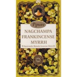 Incenso frankincense nagchampa