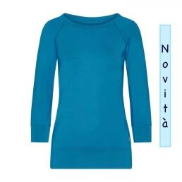 Maglia yoga azzurra Easywear