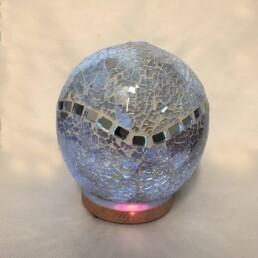 aromadiffusore sfera a led